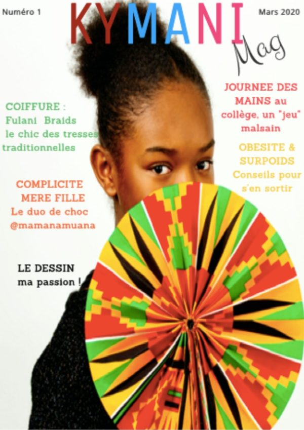 Couverture du magazine Kymani Mag du mois de Mars 2020